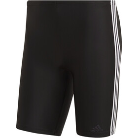 adidas Fit 3-Stripes uimahousut Miehet, black/white